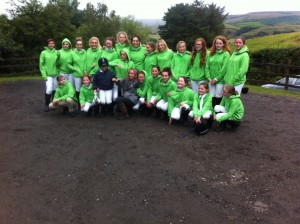 Loving our new green jumpers